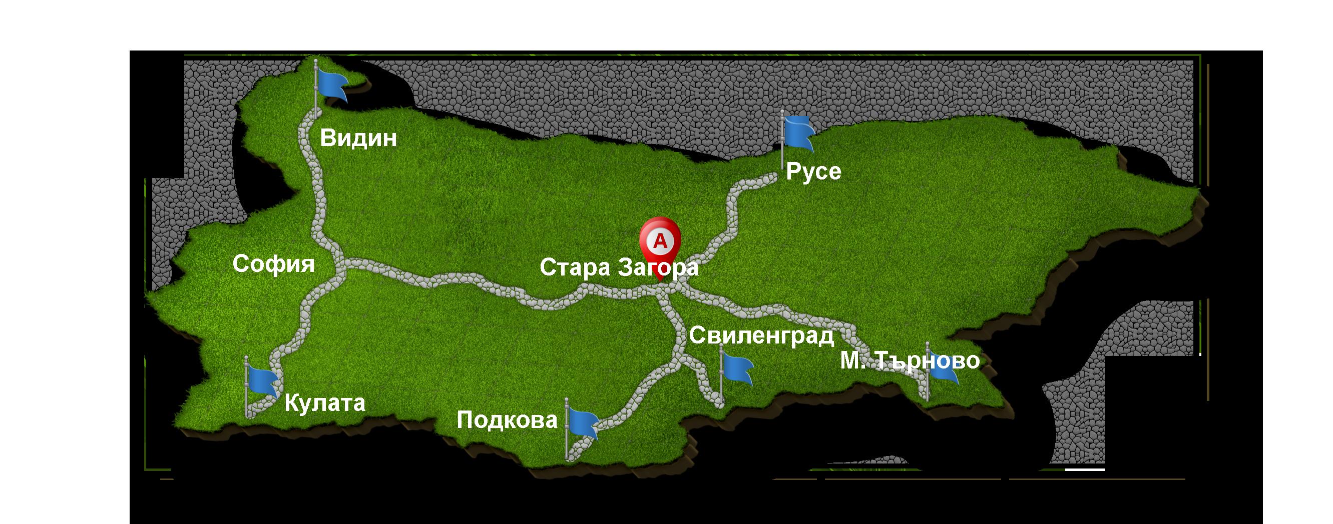 Bulgaria-map-3d