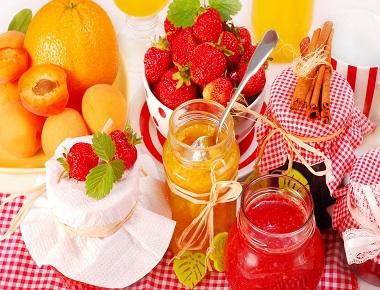 сладка от плодове